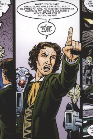 eighth doctor die naked